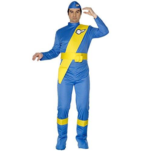 Virgil Thunderbirds Costume (Thunderbirds Virgil Herren)