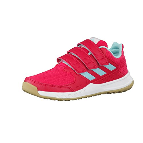 f17 energy ftwr K aqua Kinder pink FortaGym adidas white energy f17 CF Turnschuhe qxXanvS