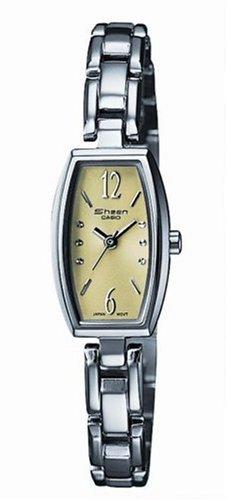 Casio Casio Collection Damen SHN-4008D-3AEF - Reloj de mujer de cuarzo con correa de acero inoxidable plateada
