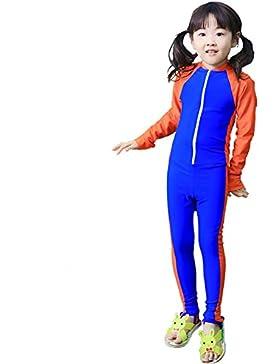 LifeWheel Kinder Badeanzug Bademode Schnelltrocknendes Mädchen Jungen UV-Schutzkleidung T-Shirt und Badehose
