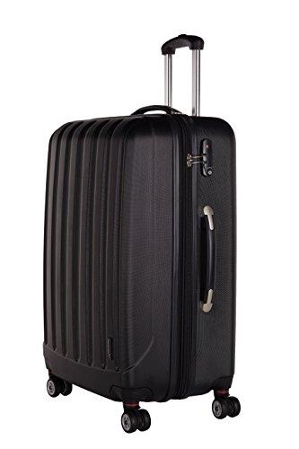Packenger 501/28-003P-05 Koffer, 72 cm, 88 Liter, Schwarz
