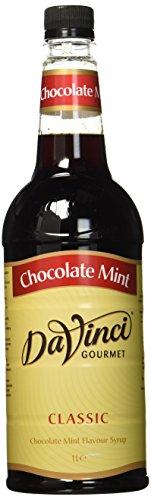 DaVinci Gourmet Classic Chocolate Mint Syrup Pet, 1er Pack (1 x 1 l)