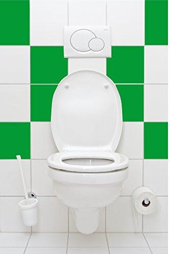 16-pezzi-matt-luce-verde-tegola-adesivo-20x25cm