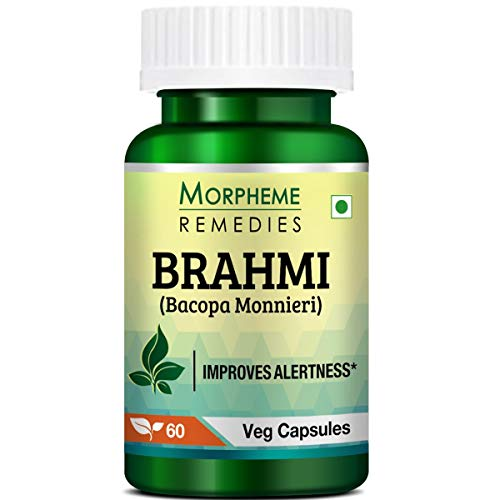Morpheme Remedies Bacopa Brahmi Extract - 500 mg (60 Capsules)