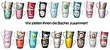 La Vida Restposten 6 Becher VK Wert € 41,70 NEUWARE Sonderposten Mix Tasse Kaffeetasse
