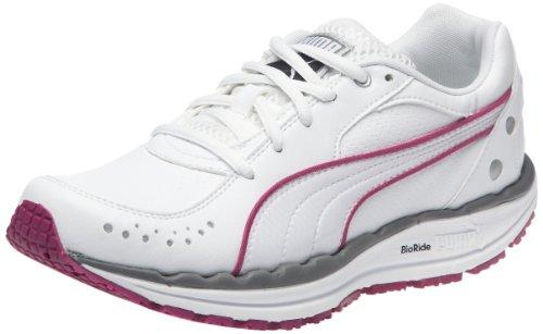 Puma Body Train Sl, Chaussures multisport femme Blanc / Gris / Rose