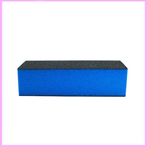 Buffer Blu e Nero Opacizzante - Ricostruzione Unghie Gel Acrilico e Manicure