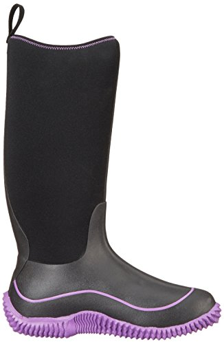 Muck Boots Hale, Damen Stiefel Black (Black/Purple)