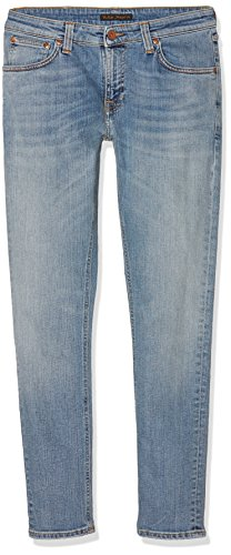 nudie-jeans-skinny-lin-jeans-homme-bleu-crispy-clear-w30-l30-taille-fabricant-l30w30