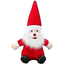 Eizur Babbo Natale Bambola Morbido Peluche Giocattoli Christmas Decorazioni Ornamento capretto bambino Regalo Festa di compleanno Decor--Altezza 22cm