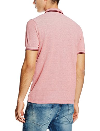 Fred Perry Herren Poloshirt M3600-b43 mehrfarbig (Washed Red / Crushed Berry / Port)