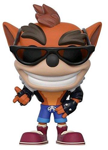 Funko–Crash Bandicoot Idea Regalo, Statue, collezionabili, Comics, Manga, Serie TV,, 25647