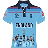 England Cricket World Cup 2019 Shirt Champions Polo Supporters Replica Shirt