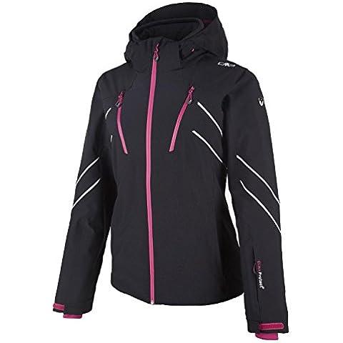 CMP–Chaqueta de esquí para mujer, otoño/invierno, mujer, color Negro, tamaño M