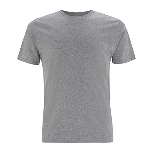 EarthPositive - Men's Organic T-Shirt Melange Grey