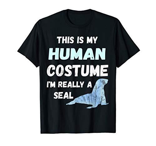 hliches Kostüm Seehund Meeressäuger Shirt ()