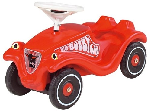 800056053 - BIG Bobby Car Classic Set - Fahrzeug, Flüsterräder und Schuhschoner