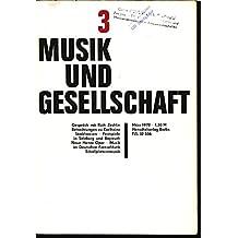"""Die Studentenbrigade """"Hanns Eisler"""", in: MUSIK UND GESELLSCHAFT, 3/1972."""