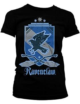 Harry Potter Oficialmente Licenciado Ravenclaw Mujer Camiseta