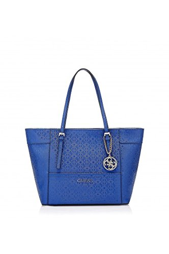 GUESS Delaney Small Classic Tote Cobalt