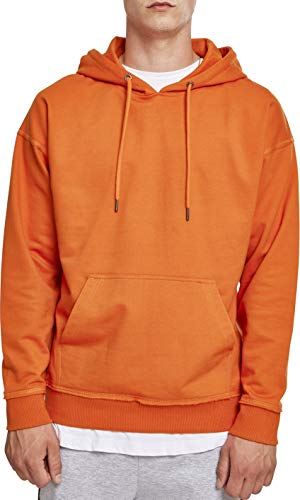 Urban Classics Herren Kapuzenpullover Oversized Sweat Hoodie,Orange (rust orange), L -
