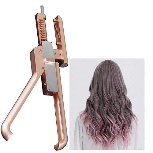 YWJH Haar Erweiterungen Maschine Kit, Hair Extension Tools, Zum Schneller Natürlich Echt Haar Erweiterung Hair Extension Tools Salon -