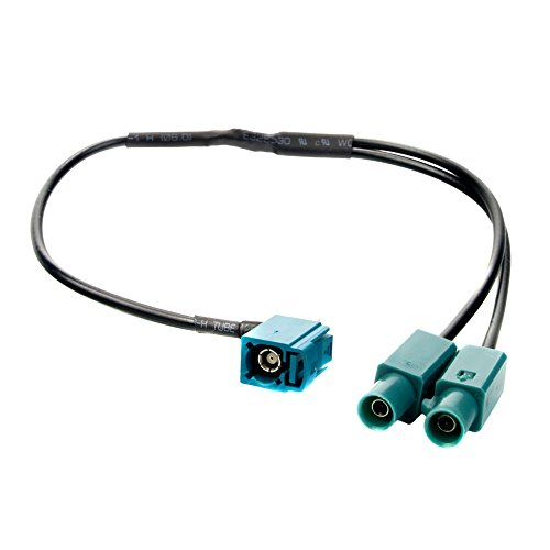 FAKRA Y-Adapter, Z-Kupplung auf Doppel-Stecker Z - Doppel-antennen-adapter