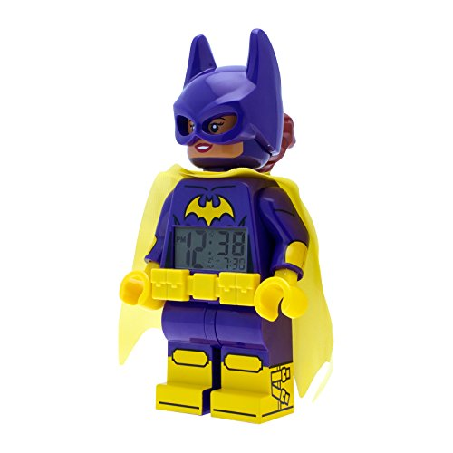 Lego Batman Movie Batgirl Reloj Despertador Infantil niña Digital ule9009334