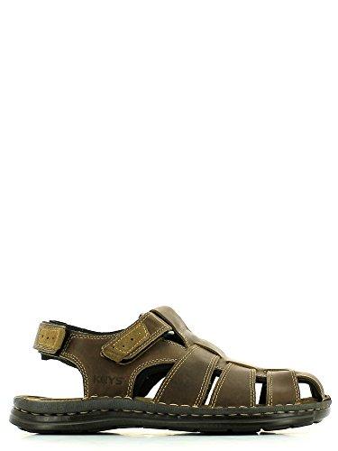 Keys , Sandales pour homme Beige - Tortora