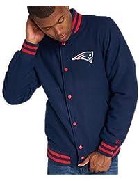 A NEW ERA Giacca NFL England Patriots Team Apparel Varsity Blu XS (X-Small fab262addf86