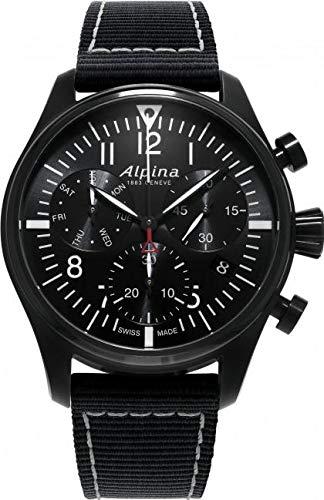 Alpina Geneve Startimer Pilot Quartz Chronograph AL-371BB4FBS6 Cronografo...