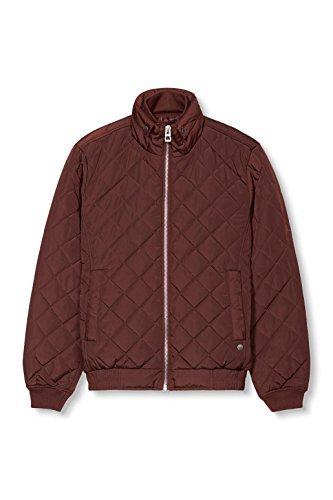 edc by ESPRIT Herren Jacke Rot (BORDEAUX RED 600)