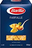 Barilla Hartweizen Pasta Farfalle n. 65 – 1er Pack (1x500g)