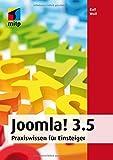 Joomla! 3.5: Praxiswissen für Einsteiger