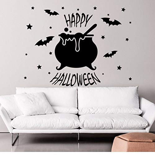 n Stickers Muraux Bat Stickers Star Vinyle Holiday Home Décor Art 72X114 Cm ()