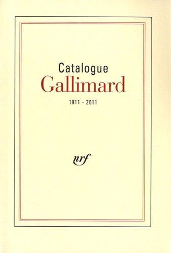 Catalogue général 1911-2011