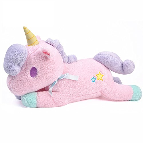 Peluche Unicornio - Juguete Suave para Niños o Regalo de cumpleaños (20cm)- Rosa