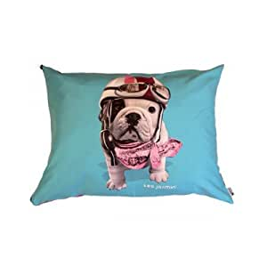 """Coussin Teo Jasmin """"Racing"""" - Taille 50"""