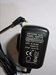 Replacement for 5V 1A AC Adaptor for Philips AJB3552/05 DAB & FM RDS Clock Radio