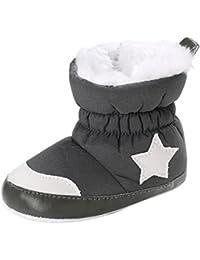 zapatos bebe invierno, Amlaiworld Botines bebé recién nacidos Niña Niño botas de invierno Zapatos calientes recién nacidos 0- 18 Mes