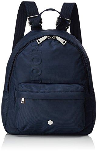 Joop! Damen Nylon Naviga Nika Backpack Mvz Rucksackhandtasche, Blau (Dark Blue), 12x33x27 cm