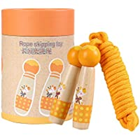 Amyove Cadeau de vacancesEnfants en Plein air de Dessin animé de Jeu manipulés Sauter la Corde à Sauter Enfants Orange Giraffe