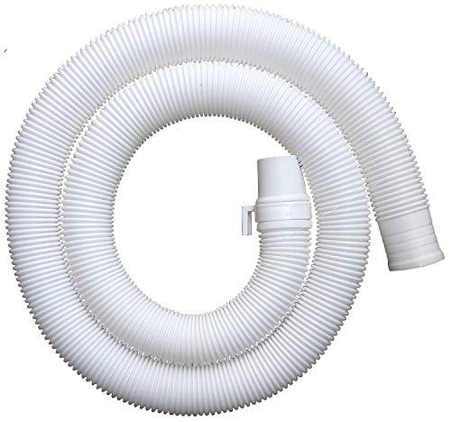 balaji trading co. Prayag Make Universal Flexible Plastic Waste Water Outlet Pipe Hose, 3 m