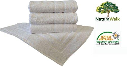 Hotel Handtücher Professional Größe 5 er Badvorleger 50x70 cm (Hotel Handtuch)