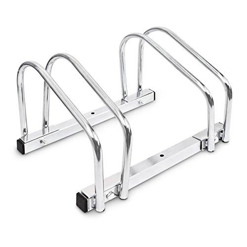 Fahrrad Zubehör Ständer / Fahrradständer Boden und Wand-Montage, für 2 Fahrräder BICYCLE GEAR