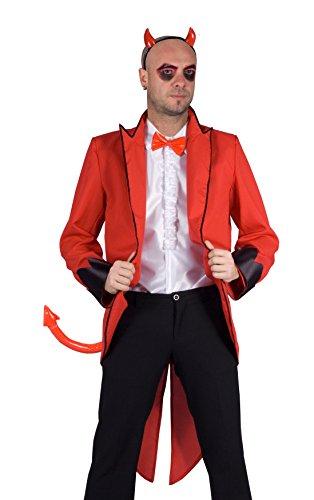 FIORI PAOLO Kit disfraz diablo, rojo L rojo