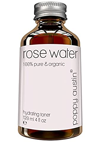 Pure Rose Water Facial Toner by Poppy Austin® - Organic,