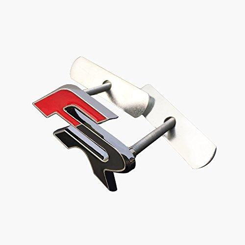 LFOTPP Car Styling FR Emblem 3D Abzeichen Schwanz Aufkleber Dekoration Verchromt Sticker (FR Emblem)