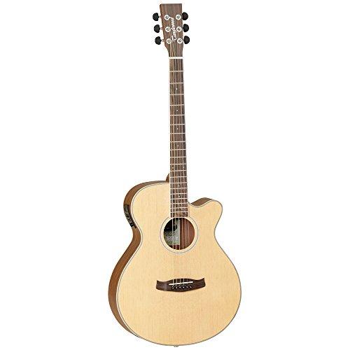 Tanglewood Discovery Pack DBT SFCE NG- Guitarra electroacústica de OV Natural