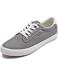MM Fashion ventilación Casual zapatos de Lienzo, gris, 43
